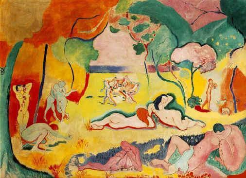La Alegría de Vivir. 1905-06. Henri Matisse